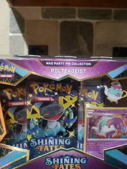 Pokemon Shining Fate Polteageist Box Set for Sale in Fort Worth,  TX