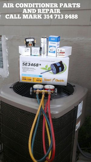 AIR CONDITIONER PARTS AND REPAIR TODAY for Sale in St. Louis, MO