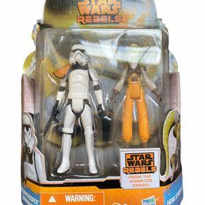Star Wars Rebels Stormtrooper Commander And Hera Syndulla for Sale in Egg Harbor Township, NJ