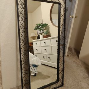 Hand Crafted Metal Wall Mirror for Sale in Kent, WA