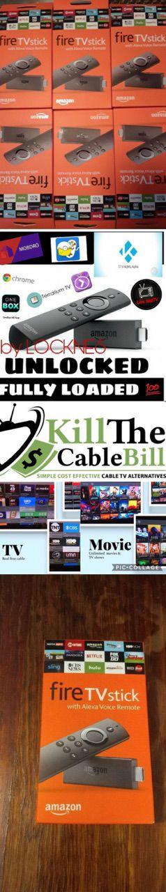 Amazon Fire TV Stick Firestick Fully Programmed Kodi 17.6 Mobdro Unlocked!!! Android Tv Box for Sale in Las Vegas, NV