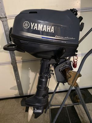Clean Yamaha 4hp 4stroke outboard motor (short shaft) for Sale in Huntington Beach, CA