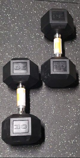 Brand New Pair of 30 lb Dumbbells for Sale in Rancho Cucamonga, CA