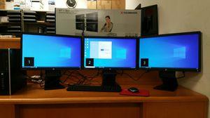 Multiple display computer:HP business EliteDesk 6200, i3-2120@4x3.3GHz, 8GB RAM, 320GB SSD, DVD burner, 5G-wireless, Win10Pro , Warranty 【No LCDs】 for Sale in Richardson, TX