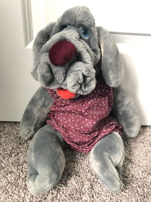 "Wrinkles Dog Ganz Bros Hand Puppet 18"" Plush Stuffed Girl Puppy Toy Vintage 1981 for Sale in Harmony, PA"