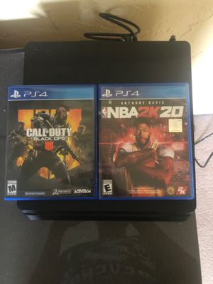 Ps4 Call of Duty and 2k20 for Sale in Washington, PA