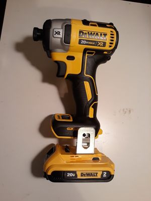 Dewalt impact drill With one battery brand new. NO CHARGER. for Sale in Lilburn, GA