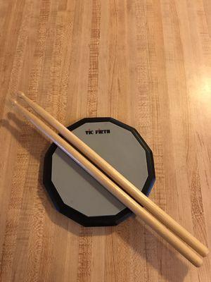 Drum Books, Drum Sticks, Drum Practice Pad for Sale in Hawthorne, FL