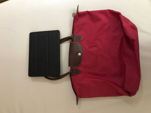 Longchamp [Used Condition] Used Bag, perfect for carrying books and iPads - No filter is used in pictures!! for Sale in MONTGOMRY VLG, MD