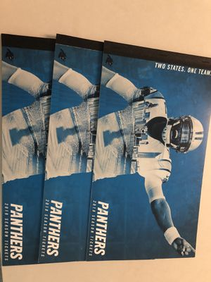 Carolina Panthers - (3) 2018 Season Tickets for Sale in Charlotte, NC