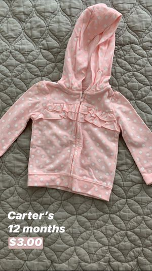 Carter's Baby Jacket for Sale in Seattle, WA