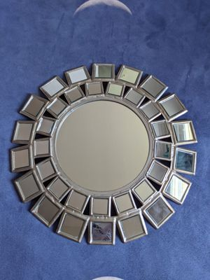 Silver Tiled Wall Mirror for Sale in Seattle, WA