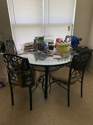 Kitchen Table with Chairs for Sale in Stone Mountain, GA