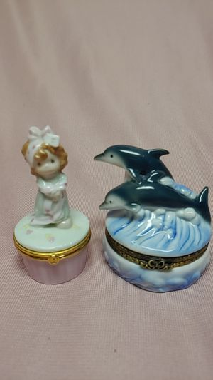 Precious Moments & Dolphins Ring boxes for Sale in Lilburn, GA