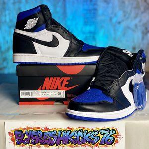 Nike Air Jordan 1 Retro Hi OG Royal Toe sz 11 for Sale in Tacoma, WA