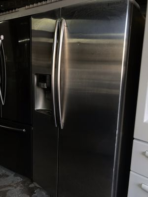 Samsung refrigerator side-by- side for Sale in La Habra, CA