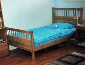 Twin bed frame wood for Sale in San Diego, CA