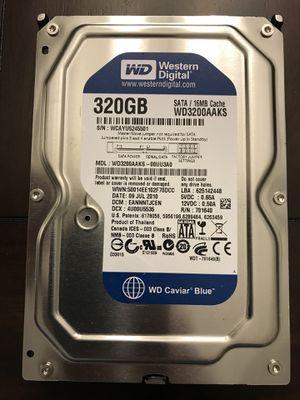 Western Digital 320GB Caviar Blue Hard Drive for Sale in Charleston, SC