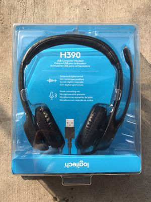 Brand New ! Logitech H390 USB Wired Headset ! for Sale in Chino Hills, CA