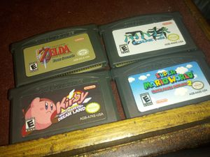 Nintendo Game Boy advanced 4 game lot for Sale in Chicago, IL