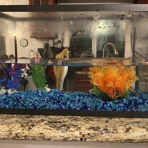 Fish Tank W Accessories for Sale in Santa Ana, CA