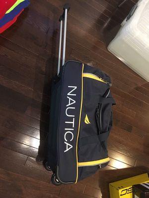 Nautica Travel Duffle Bag Roller for Sale in Fairfax, VA