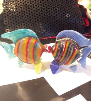 2 Blow Glass fish collectibles for Sale in Oakland, CA