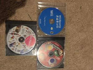 3 popular Wii games for Sale in Edmonds, WA