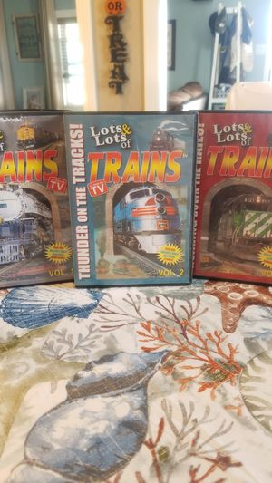 Lots and lots of Trains DVD collection for Sale in Hartford, CT