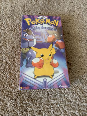 Pokémon movies on VHS & a full-color guidebook for Sale in Mukilteo, WA