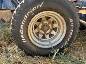 Jeep 5 x 5.5 wheels for Sale in Corona, CA