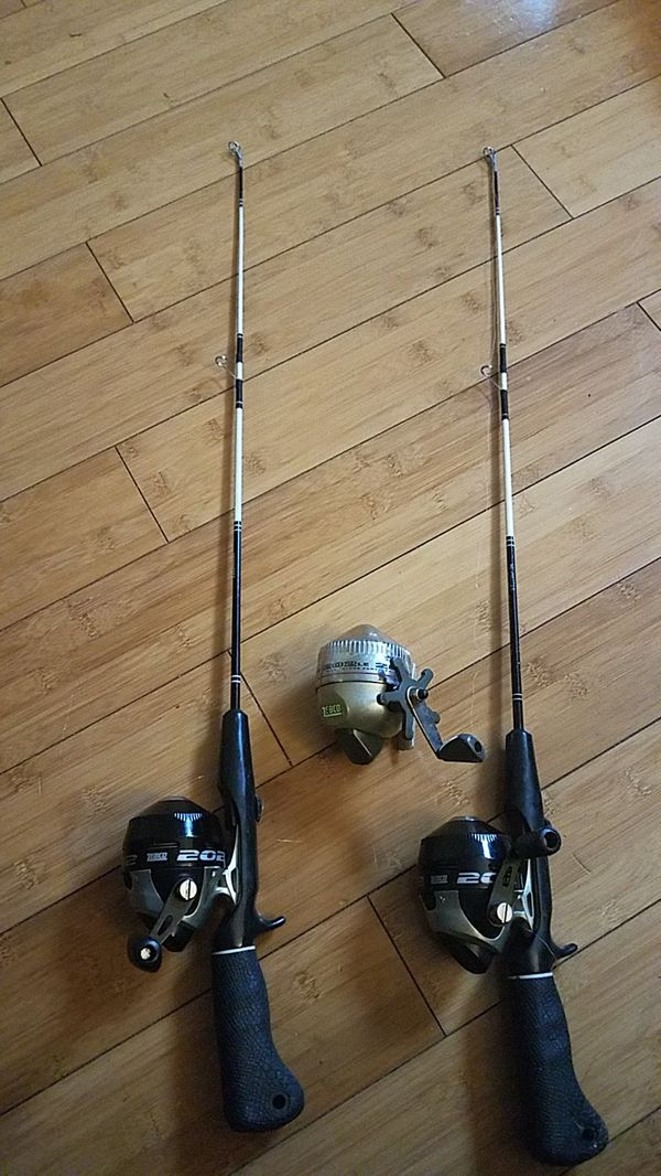 Small fishing rods