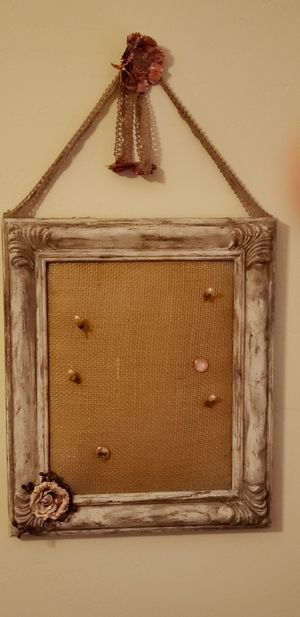 Pin cushion picture frame for Sale in Payson, AZ