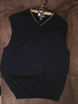 Jos A. Bank Leadbetter Black Pima Cotton Sweater Vest for Sale in Norcross, GA