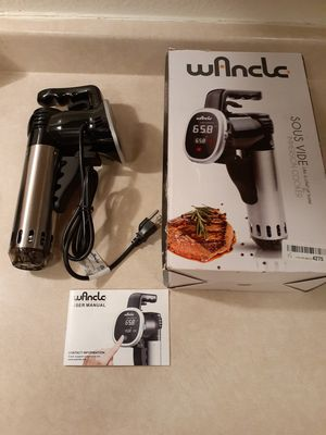 Wancle Immersion Food Cooker for Sale in Las Vegas, NV