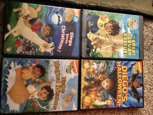 Set of Diego Dvds for Sale in Everett, WA