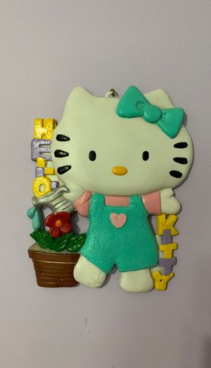Ceramic Hello Kitty wall decor for Sale in Oak Lawn, IL