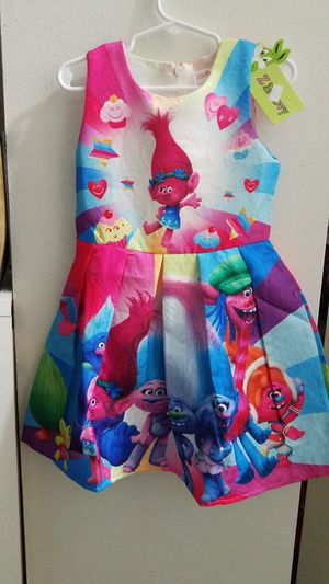 Beautiful Troll Dress size. 2-3y for Sale in Miami, FL