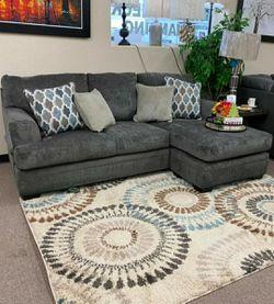 🍒$39 Down 🍒 Best OFFER. Dorsten Slate Reversible Sofa Chaise byAshley for Sale in Laurel,  MD