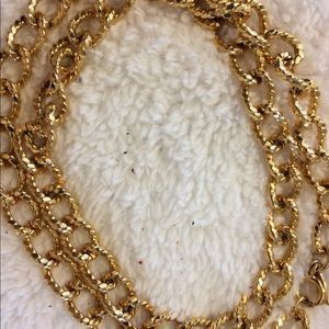 Vintage Erwin Pearl Gold Chain Link Rope Necklace for Sale in Owings Mills, MD