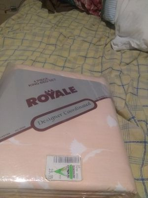 King size bed sheets/ brand new for Sale in Columbia, MO