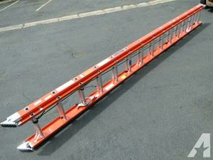 2 Werner 36' Fiberglass Extension Ladders for Sale in Seattle, WA