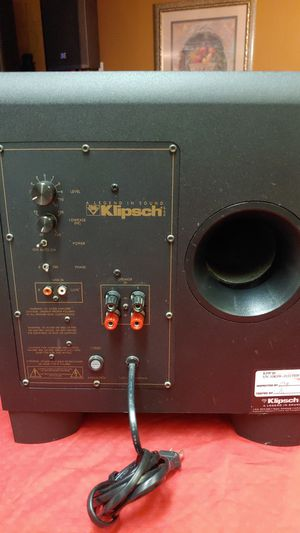 "Klipsch 10"" sub for Sale in Hemet, CA"
