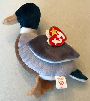 "Ty Beanie Baby"" Jake The Duck"" 1997 Hang Tag, 1998 Tush Tag Red Stamp In Tush Tag....Pre-Owned for Sale in Baltimore, MD"