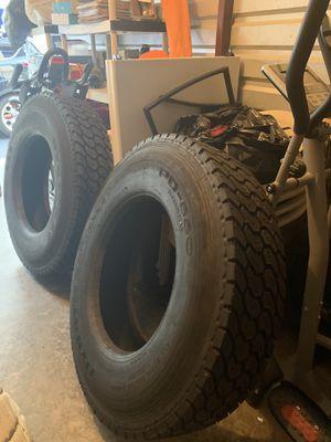2 Tractor trailer tires for Sale in Marietta, GA