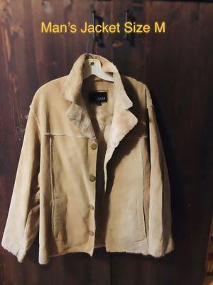 Man's Suede Jacket for Sale in Summersville, WV