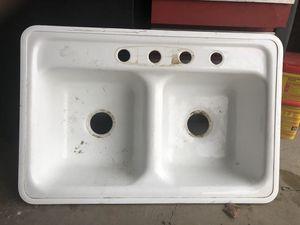 White ceramic sink for Sale in Bountiful, UT