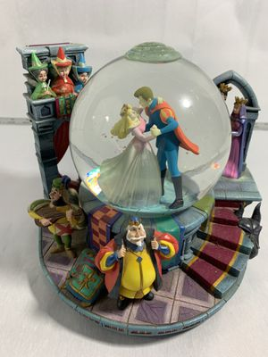 RARE Disney Sleeping Beauty Once Upon The Dream Musical Princess Snow Globe #336 for Sale in Bothell, WA