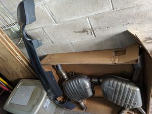 BMW e92 335xi OEM Exhaust and M-Sport Diffuser for Sale in New York, NY
