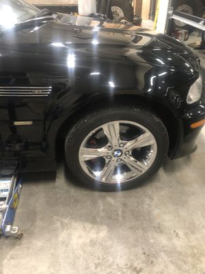BMW 17 inch wheels and tires for Sale in Buckley, WA